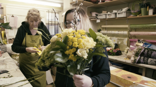 apprentice florist